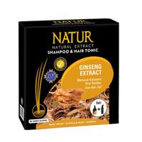 Paket Natur Shampo 140ML Dan Natur Tonic / Tonik Gingseng 90ML