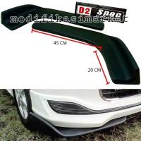 UNIVERSAL BUMPER SPOILER CAR FRONT BUMPER / WINGLET DIFFUSER D2SPEC