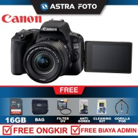 CANON EOS 200D KIT 18-55mm IS III KAMERA DSLR PAKET 16GB