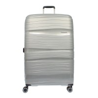 Condotti Luggage 63126 - 28 inch Grey Metalik