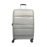 Condotti Luggage 63126 - 24 inch Grey Metalik