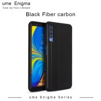 UME ENIGMA Samsung Galaxy J2 Core Hitam Soft Jacket Fiber Carbon