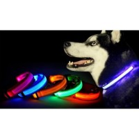 Kalung Anjing LED Flash - Size M