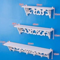 MH253 Rak Rack dinding vintage Megahome tebal wpc 0.8cm furniture