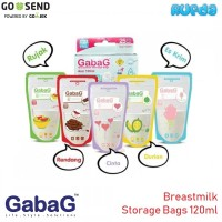 Gabag Kantong ASI 120ml Warna Warni Breastmilk Storage Bags 4oz