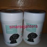 M-Pets Cleaning Wipe Bottle 80pcs Wet Tissue Tisu Basah Anjing Kucing