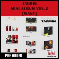Taemin - Mini Album Vol.2 [WANT]