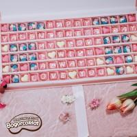 Kado Coklat Ucapan Valentine