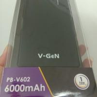 Powerbank V-GeN PB-V602 6000mAh Dual Output