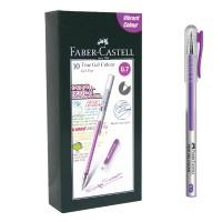 Faber-Castell True Gel Pen -- Violet Ink 0.7 mm