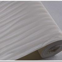 Wallaper Dinding Polos Salur Gliter Putih 53cm x 10m P7701-5