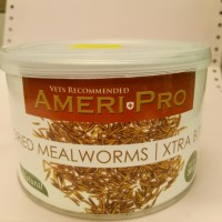 ameripro dried mealworms xtra bite 30 g