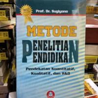 Buku - METODE PENELITIAN PENDIDIKAN - Dr Sugiyono