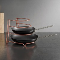 FRY PAN HOLDER CANYON / WAJAN HOLDER SUSUN 4 / RAK WADAH WAJAN