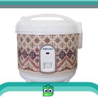 Miyako Motif Batik PSG 607 Multi Cooker Rice Nasi Cooker Magic Com