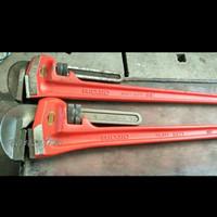 Kunci Pipa RIDGID Pipe Wrench 60 Inch Steel Handle - Kunci Pipa 60 inc