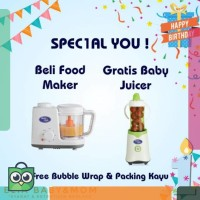 PROMO Baby Safe Food Maker LB003 l Food Maker Blender Steam Baby