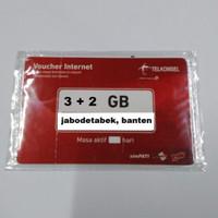 VOUCHER DATA TELKOMSEL 5 GB KUOTA 3+2 GIGA