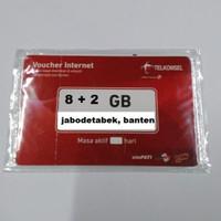 VOUCHER DATA TELKOMSEL 10 GB KUOTA 8+2 GIGA