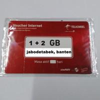 VOUCHER DATA TELKOMSEL 3 GB KUOTA 1+2 GIGA