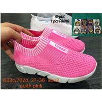 Sepatu anak cewek import rajut sepatu anak perempuan import murah