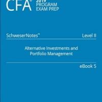 CFA 2019 Level 2 Book 5: ALTERNATIVE INVESTMENTS (Buku Non Ori)