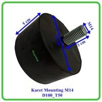 karet mounting D100-T50-M14