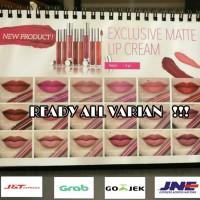 Lip Cream Wardah Exclusive Matte Lipstik Lipstick ORIGINAL