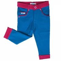 Celana Anak Perempuan 7/8 Colorful Stretch Denim