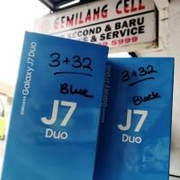 SAMSUNG Galaxi J7 DUO Ram 3 Rom 32gb Dual Kamera Back Garansi Resmi
