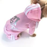 promo Adidog Baju Jaket Hoodie Anjing Size XL - Red promo