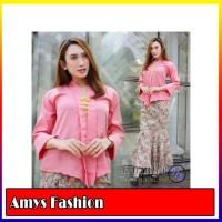 Stelan Kebaya Anila Blouse Dan Rok Duyung Maxi Jumbo Batik Wanita