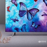 READY SAMSUNG Q LED TV QA55Q6FN