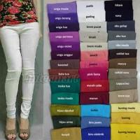 Celana Katun Stretch, Leging Polos, Legging Cotton Pants