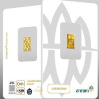 KEMASAN BARU NEW PRESS LOGAM MULIA ANTAM 0,5 GR LM 0.5 GRAM