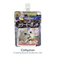 snack kucing cattyman liquid BONITO 90gr 90 gr NO cat stick edel meo