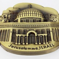 Souvenir Magnet Tempelan Kulkas Negara Israel Kota Jerusalem Yerusalem