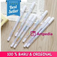 Flower White Gel Ink Pen / Pulpen Tinta Gel Putih - Pulpen Gel