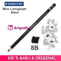 Staedtler Mars Lumograph Black Pencil - 8B / Pensil Staedtler 8B