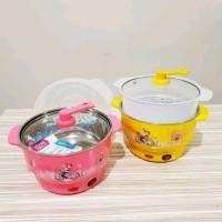 Mini Rice Pot/Panci Listrik Serbaguna/Mini Cooker Elektrik Portable