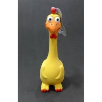 Pet Toy Chicken With Sound 28cm - Mainan Gigitan Anjing