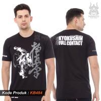 Kaos Karate Kyokushin Hanzo Fight Gear / T shirt Karate Kyokushin KB48