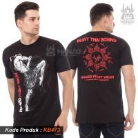 Promo Kaos MuayThai, Baju MuayThai, T Shirt Muay Thai Terlaris KB532