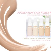 FOUNDATION CAIR KOREA KILOAN IMPORT KOREA SPF 50 KEMASAN BOTOL 30ML