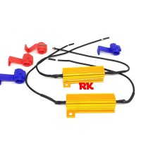 RESISTOR LED SEIN MOBIL KEDIP NORMAL | RESISTOR 50 WATT T20 1156 P21W