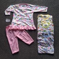 SPY94 Setelan Baju Bayi Perempuan Piyama Baju Tidur Motif KANCIL RIFKI