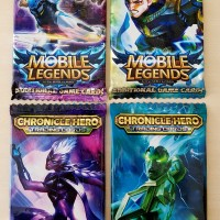 Mainan Kartu Mobile Legend 1 Bungkus isi 12 Kartu