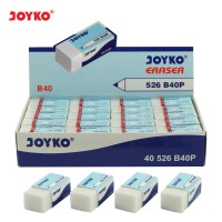 Eraser / Penghapus Joyko 526-B40P / 1 BOX 40 PCS