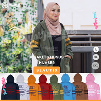 Jaket Muslimah Hijacket Beautix All Variant | Jaket Wanita Cewek