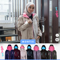 Jaket Muslimah Hijacket Montix All Variant | Jaket Wanita Cewek